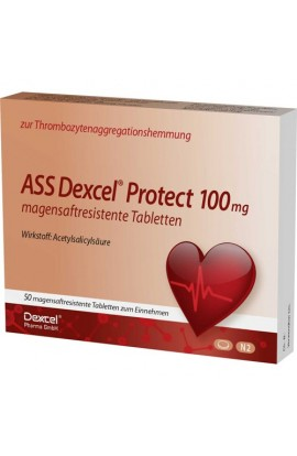 Dexcel,ASS Dexcel Protect 100mg, (50 tab)