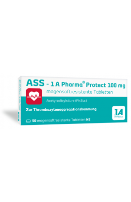 1A Pharma, ASS 100 - Protect, (50 tab)