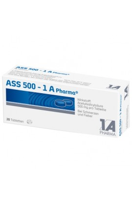 1A Pharma, ASS 500 ,  ( 20 tab)