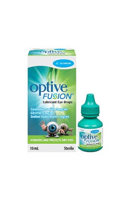 Allergan Pharmaceuticals, OPTIVE FUSION, 10 ml