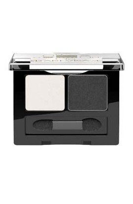 ART-VISAGE double eye shadow DOUBLE STORY tone 201 graphite-white mother of pearl