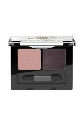 ART-VISAGE double eye shadow DOUBLE STORY tone 204 black-brown-tender pink