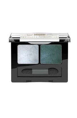 ART-VISAGE double eye shadow DOUBLE STORY tone 205 graphite blue-silver pearl