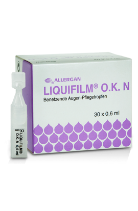 Allergan, LIQUIFILM O.K. N, 30 × 0.6 ml