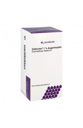 Allergan, Celluvisc 1% Augentropfen, 90X0.4 ml