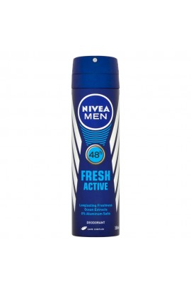 NIVEA Men  Fresh Active  Antiperspirant spray for men 150 ml