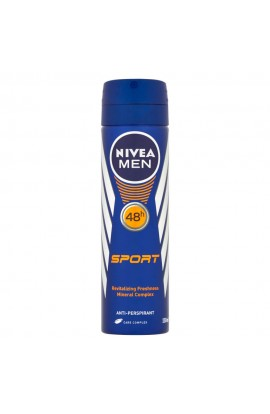 NIVEA Men  Sport  Antiperspirant spray for men 150 ml