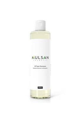 Mulsan Shampoo for all hair types with chamomile and wheat germ extract 300 ml