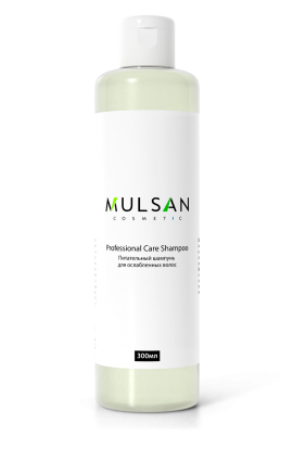 Mulsan Nourishing shampoo for weakened hair with grape seed oil, macadamia and cypress extracts, Diagel roots 300 ml