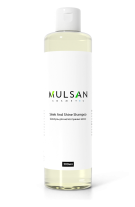 Mulsan Shampoo for naughty hair smoothness and shine 300 ml