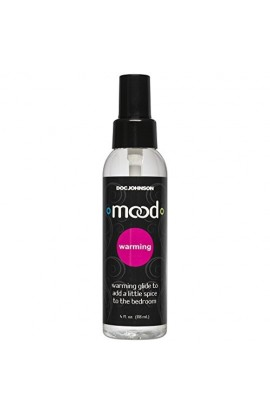 Doc Johnson Mood - Warming Glide - Gets Warmer with Motion - Compatible With All Condoms and...