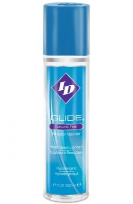 ID Glide Personal Water Based Lubricant, 17-Ounce Bottle