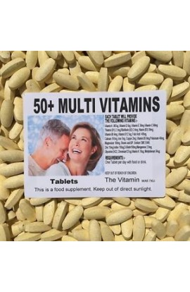 50+MULTI VITAMIN PLUS (360 tablets) One per day