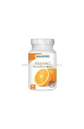 Balestra Vitamin C 500 mg with a gradual release of 90 cps.
