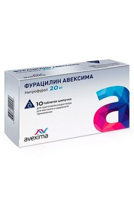 Avexime Furacilin 10 tablets