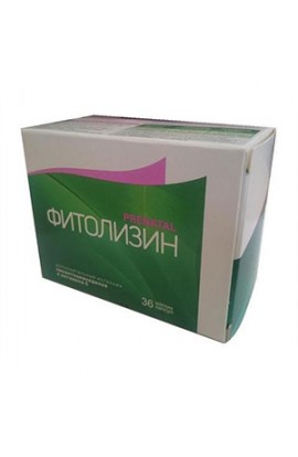 Medan Pharma Phytolysin Prenatal caps. Soft 840mg