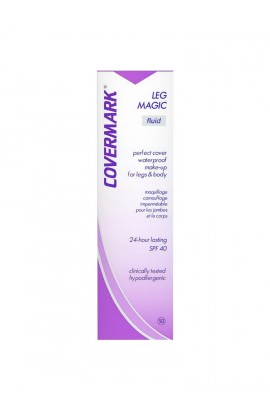 Covermark Leg Magic, Fluid Camouflage, Makeup Waterproofing Legs & Body 75 ml, Color tone: D1