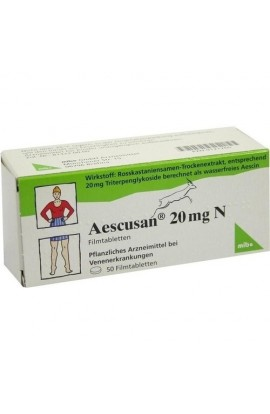 Mibe, AESCUSAN 20 mg N Filmtabletten, 50 tab