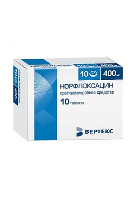 copy of Obolensky AF Norfloxacin, coated tablets. 400 mg 10 pcs.