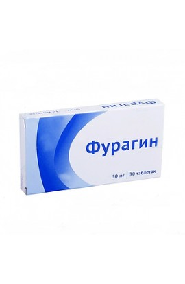 Obolenskoe FP Furagin, tablets 50 mg, 30 pcs.