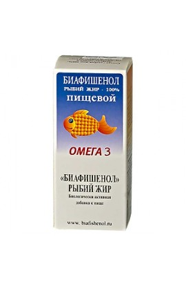 Del Rios Fish oil Biafishenol Omega-3, 100 ml bottle