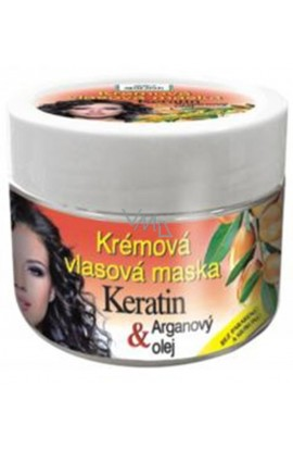 Bione Cosmetics BIO Keratin Argan Oil Cream Hair Mask 260 ml