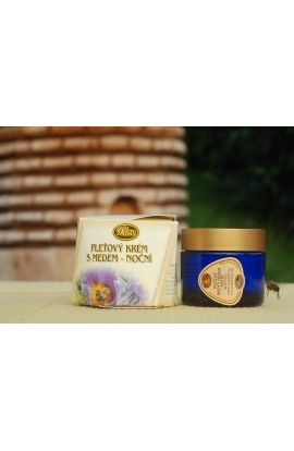 Pleva  skin cream with honey 50 g night