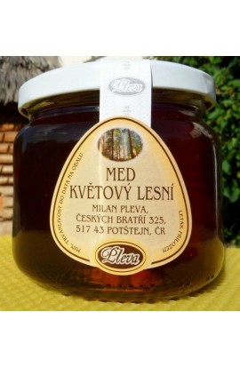 Pleva forest honey 450g