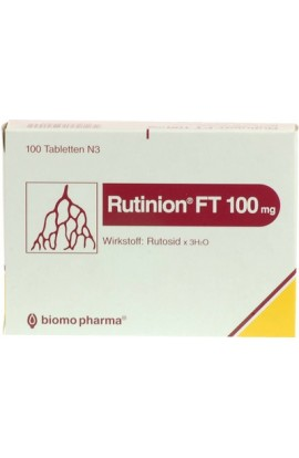 Biomo, RUTINION FT 100mg, 100tab