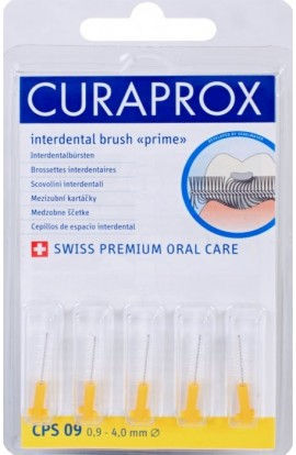 Set of interdental brushes 0,9 mm CPS 09 prime refill 5pcs Curaprox