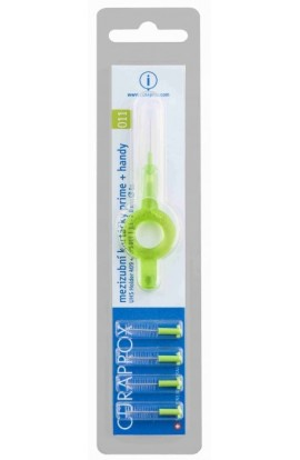 Interdental brush 1.1 mm CPS 011 prime handy 5pcs Curaprox