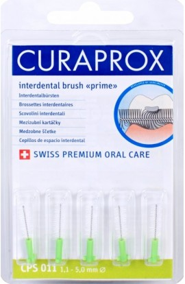 Set of interdental brushes 1,1 mm CPS 011 prime refill 5pcs Curaprox