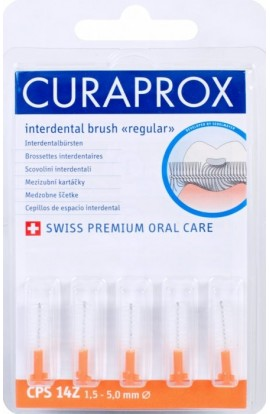 Dental brushes 1,5-5мм CPS 14 Z regular refill 5шт Curaprox