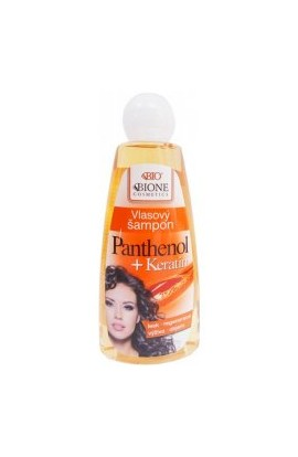 BC Bione Cosmetics Panthenol + Keratin Hair Shampoo 260 ml