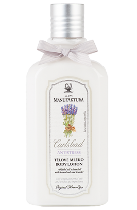 Manufaktura Moisturizing body lotion with spring salt, lavender and almond oil 300 ml