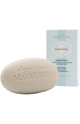 Manufaktura  Fine Soap with Dead Sea Mud, Oat Extract and Almond Oil 150g