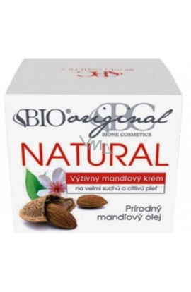BC Bione Cosmetics Original Natural Nourishing Almond Cream Very Dry and Sensitive Skin 51 ml