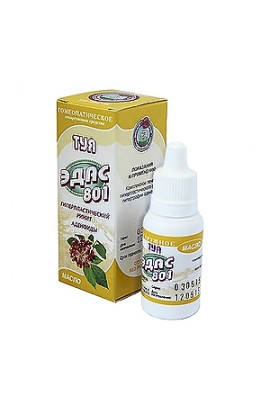 Edas, Edas-801, homeopathic oil, 15 ml