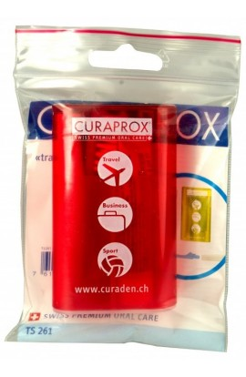 ROAD KIT FOR HYGIENE OF THE TREE OF TAX (red) TS 261 cestovní sada 1pc Curaprox