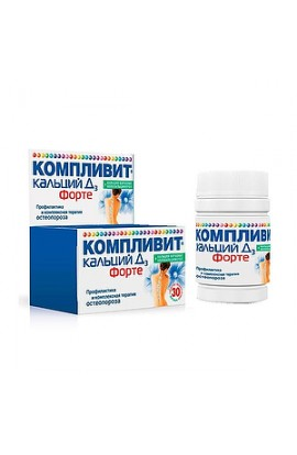 Pharmstandard-Ufavita Complivit Calcium D3 Fort, peppermint pills, 30 pcs.