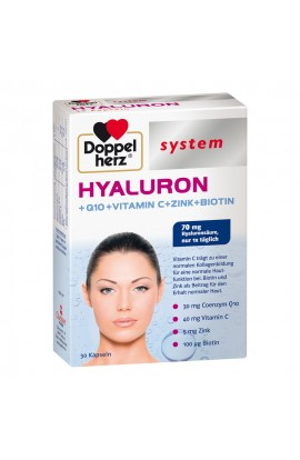 Double heart Hyaluron system capsules (30 pcs)