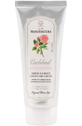 Manufaktura Hand care cream with  spring salt, pink extracts and valuable oils  100 ml