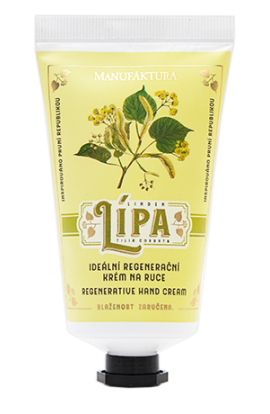 Manufaktura Ideal regeneration hand cream with linden, almond oil and panthenol 75  ml