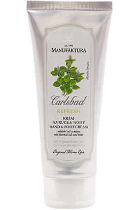 Manufaktura Smoothing hand & foot cream with spring salt, mint and shea butter 100 ml