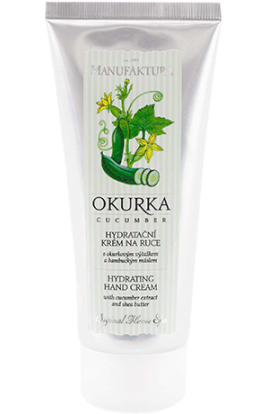 Manufaktura  Moisturizing hand cream with cucumber extract and shea butter  100 ml