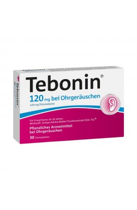 Tebonin 120mg with ear noises (30 pcs)
