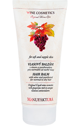 Manufaktura  Hair balm with wine and panthenol for normal to dry hair  200  ml.