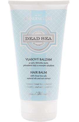 Manufaktura  Hair balm with Dead Sea Salt, Natural Oils and Oat Extract, 200  ml.