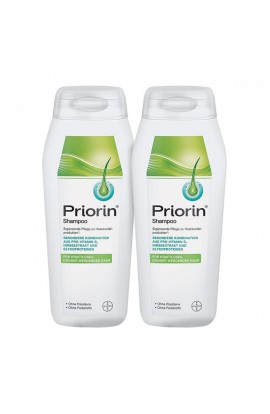 Priorin Shampoo for feebly thinning hair (2x200 ml)