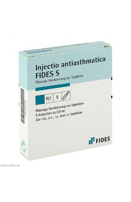 Heel, INJECTIO ANTIASTHMATICA S 5 × 2 ml